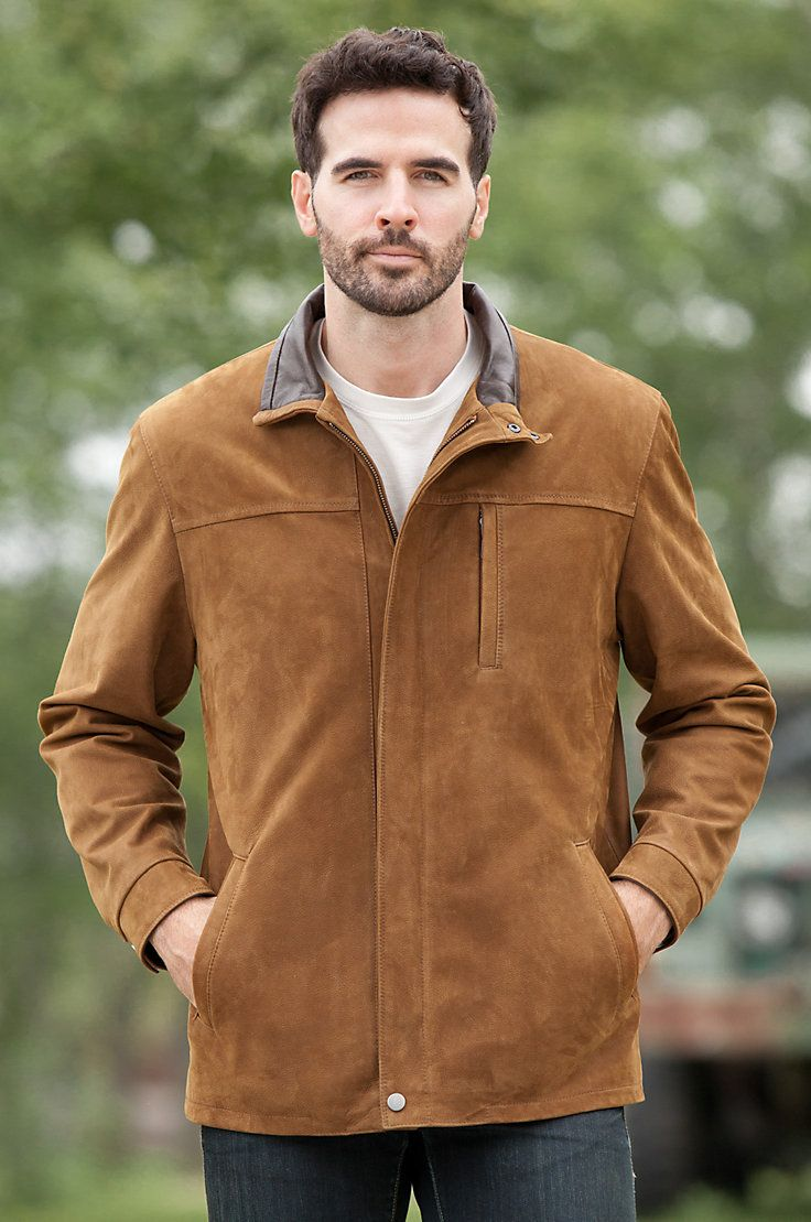 Italian lambskin nubuck leather with a gently pebbled grain and velvety soft hand feel makes this jacket exceptional. Free shipping + returns.