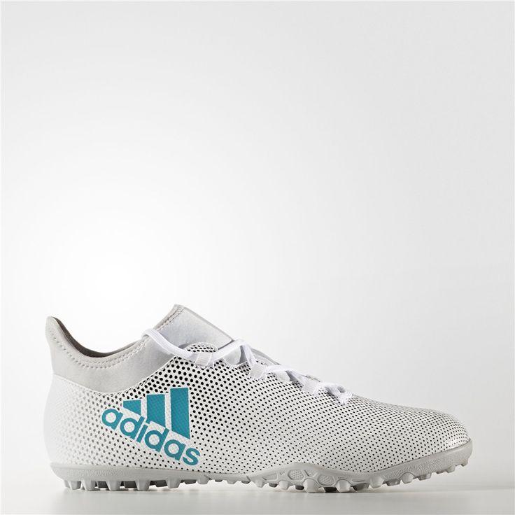 Adidas X Tango 17.3 Turf Shoes (Running White Ftw / Energy Blue / Core Black)