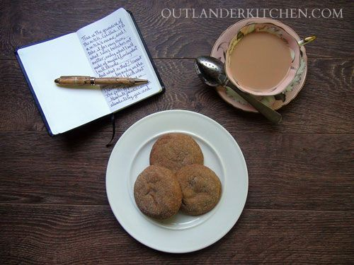 Fiona's ginger-nut biscuits from Drums of Autumn (Outlander series #4)