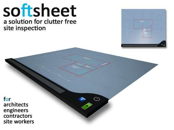 Digital Touchscreen Paper - The Gautham Varma 'SoftSheet' for G3 Studio is Perfectly Paperless (GALLERY)
