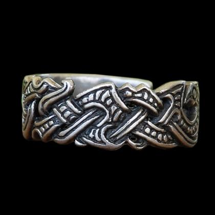 Mens Viking Wedding Ring