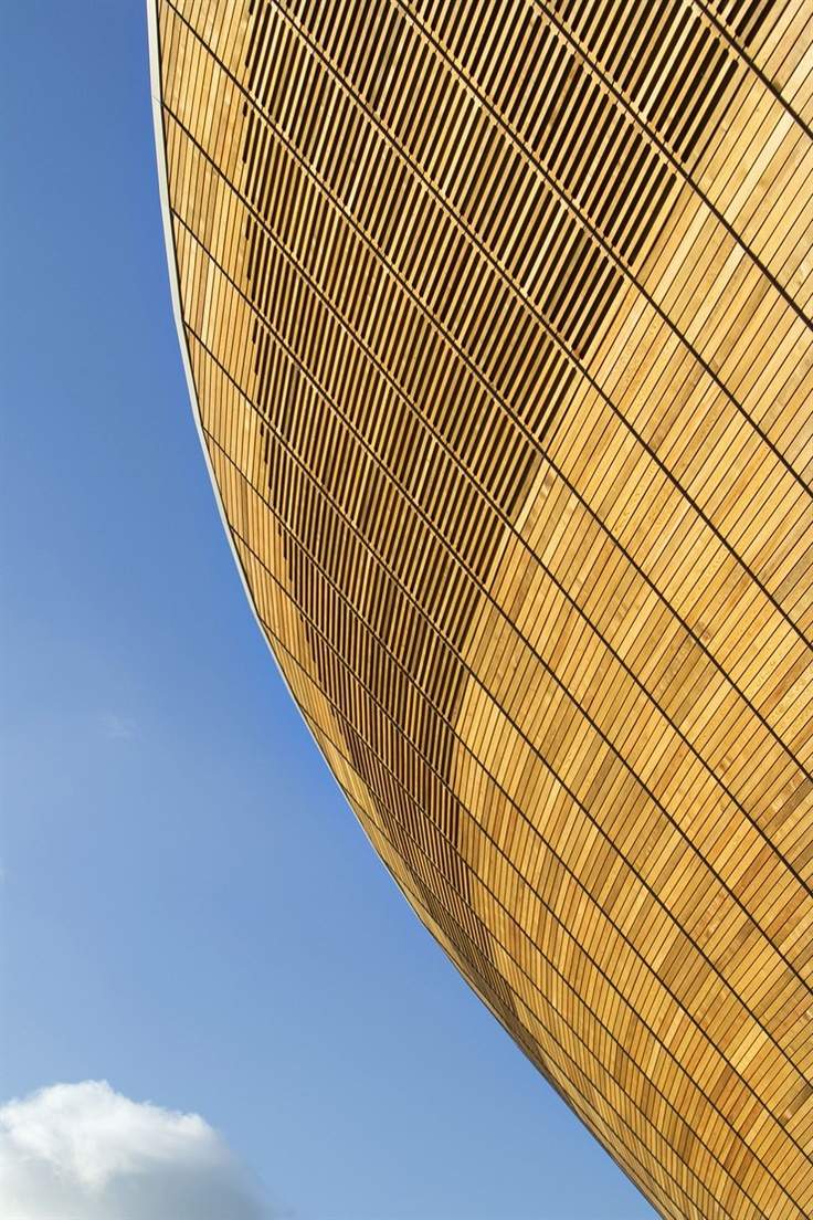 LONDON 2012 OLYMPIC VELODROME  ARCHITECTURE AWARD, DESIGN OF THE YEAR 2012  LONDRA/UNITED KINGDOM/2011    Hopkins Architects    #architecture #london2012 #olympics