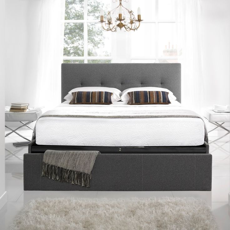 Christie Bed Frame at Carpetright  Interest free credit   bed recycling  available  Price Checker shows beds checked against our competitors. 17 Best images about beds on Pinterest   Ottomans  Grey fabric and