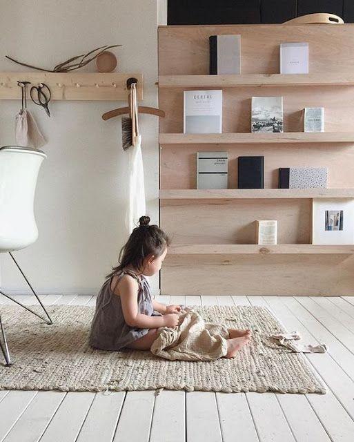 ATELIER RUE VERTE , le blog: For my home #27 / Idées déco simples avec du bois blond /