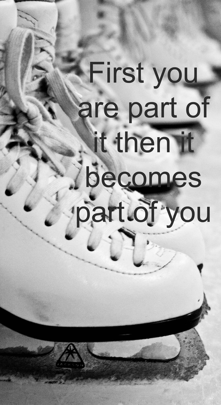 I know I don't love it the way I used to... I know that I won't be skating too much anymore... But it will always be a part of me