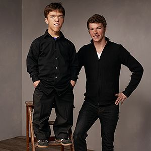 Little People, Big World: TLC Zack and Jeremy Roloff, twin brothers.