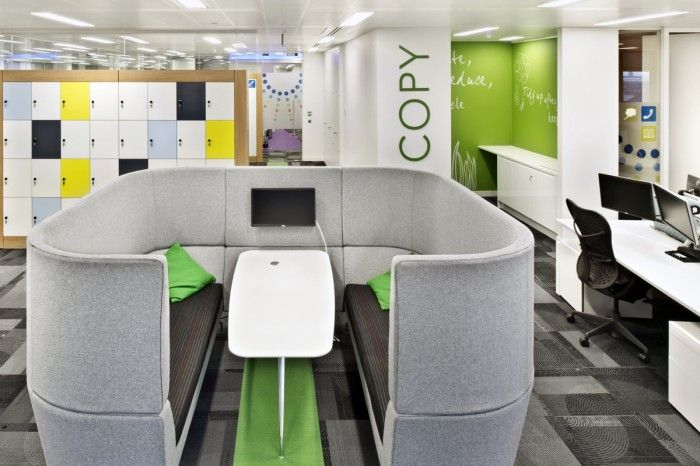 Meeting booth - SAS London office Workpods are cracking