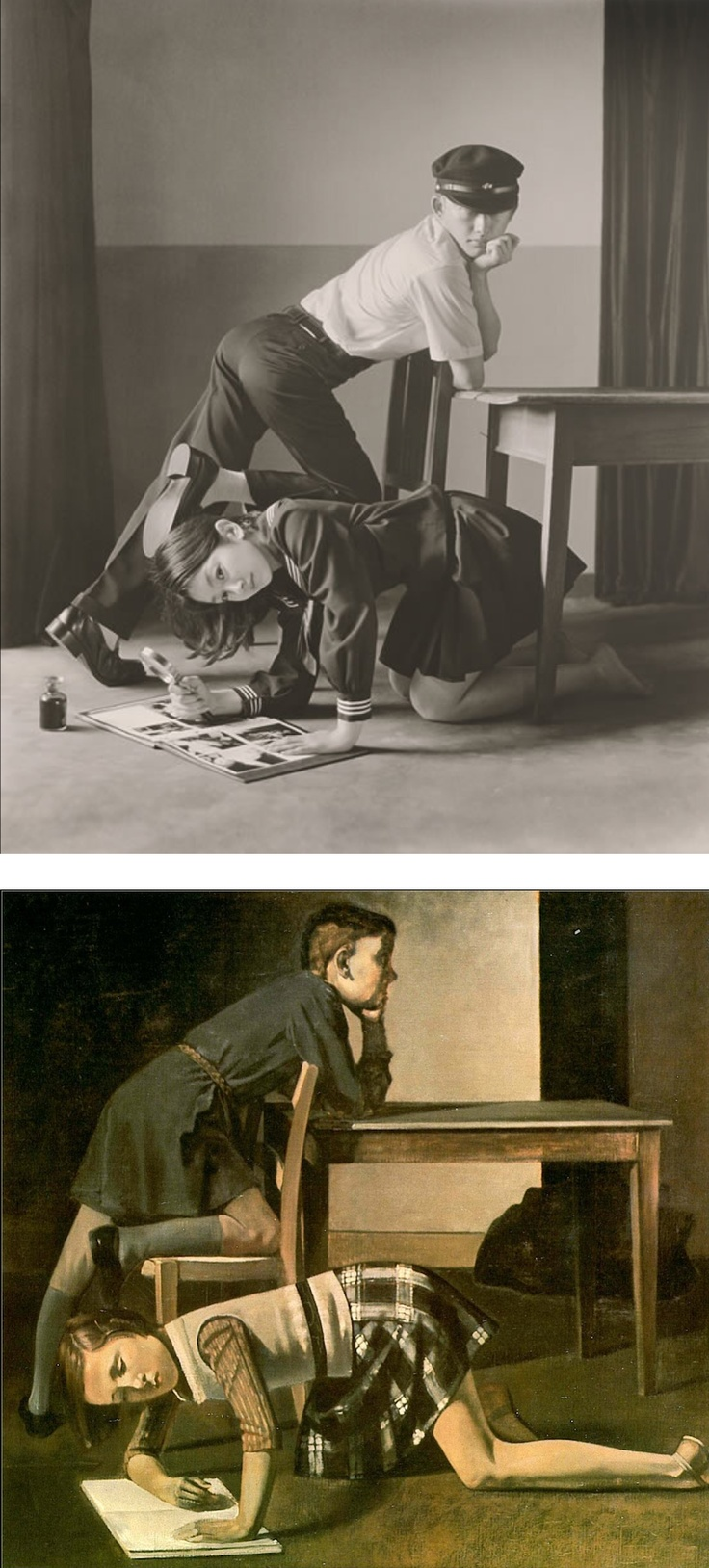 Hisaji Hara  (after Balthus)