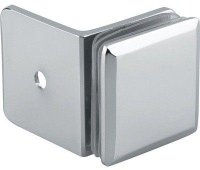 GC90-C1  50 mm magas, falra szerelhető 90°-os fix üveg megfogó