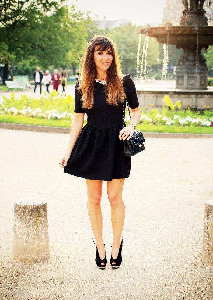 Marie Luv Pink #spritzi #frenchblogger #fashion /Robe CLO (36,50€ au lieu de 49€) , Sac CHANEL – Collier SHOUROUK, Shoes MINA PARIKKA (-20%*) , Montre BAUME & MERCIER Linéa