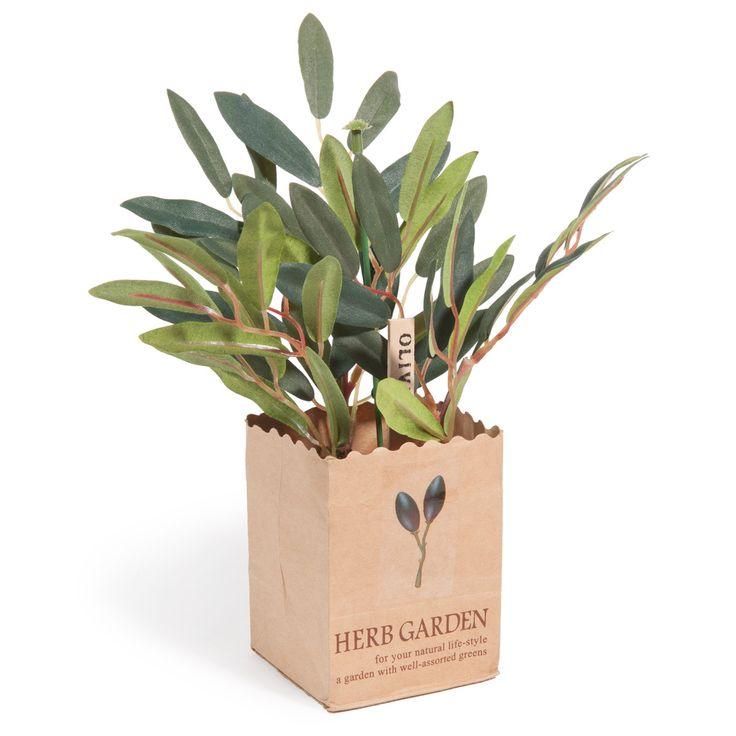Déco olivier artificiel
