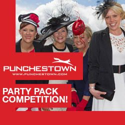 Win a Punchestown Festival Party Pack for you & 9 friends. Log in & answer the question now to be in with a chance to win!