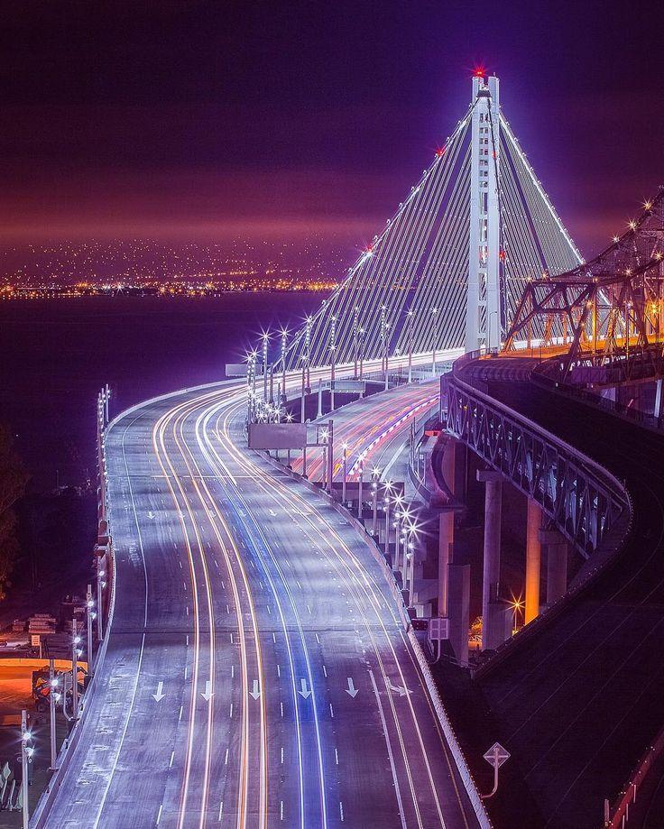 San Francisco Bay Bridge @tobyharriman #sanfrancisco #sf