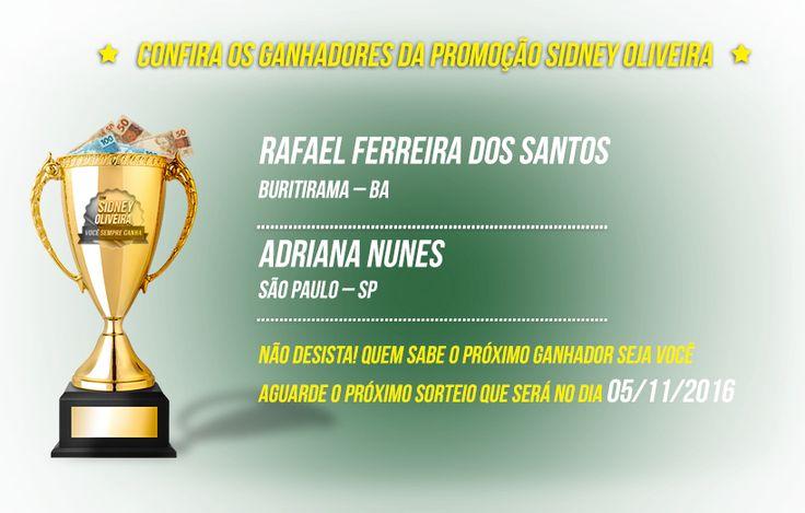 Promoção Sidney Oliveira