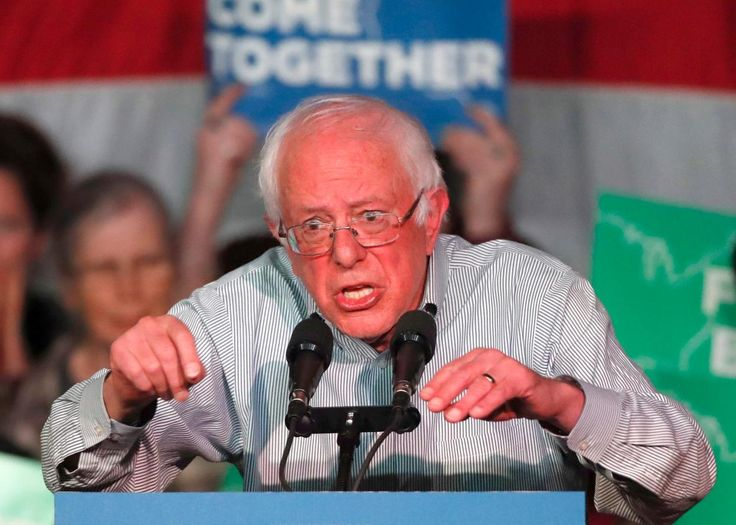 Bernie Sanders says the model of the Democratic Party is failing