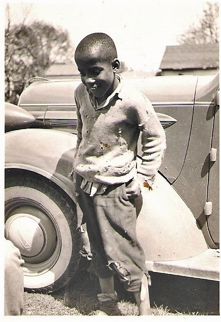 VIntage Photograph :::::::: Poor African American boy with ...