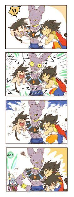 Resultado de imagen para goku x vegeta comic