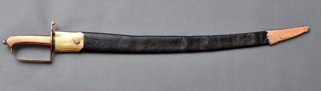 Collection de Sabres et Epées des Guerres Napoléoniennes: Sabre d'Abordage de Cassaignard Marine XVIII ème