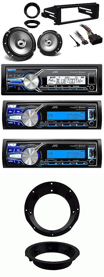 Dashboard Installation Kits: Usb Marine Stereo, 98-13 Harley Flhx Flhtc Dash Kit, Marine Speakers And Adapters BUY IT NOW ONLY: $152.73 #homestereoinstallation