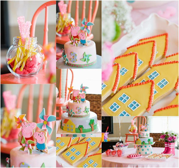 Peppa Pig Party ideas | ideas fiesta pepa