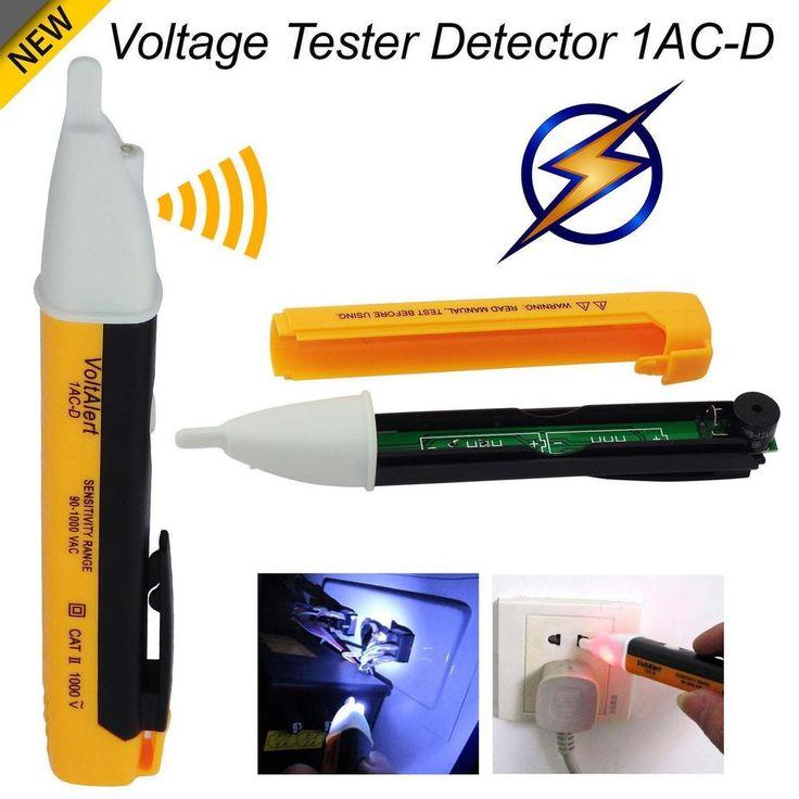 Voltage Detector Pen AC Non Contact Electric Tester Volt Alert Sensor 90-1000V