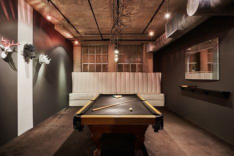 Industrial Game Room/Man Cave Design