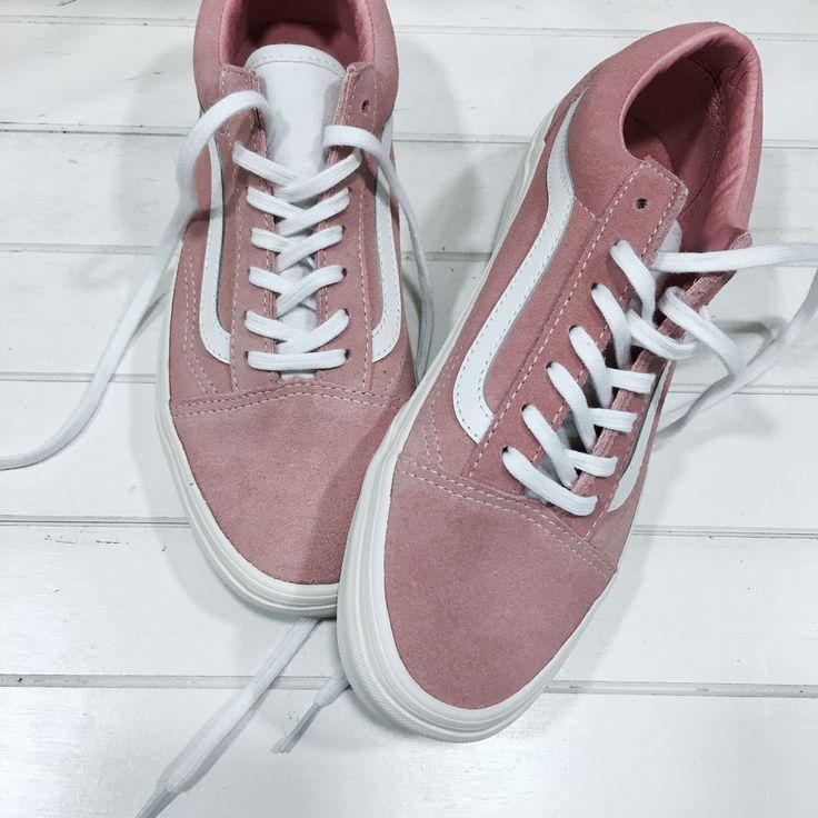 #Deportivas #Vans Old Skool Retro. ¡Súmate a la fiebre rosa!