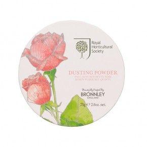 Bronnley RHS Rose Dusting Powder 75g