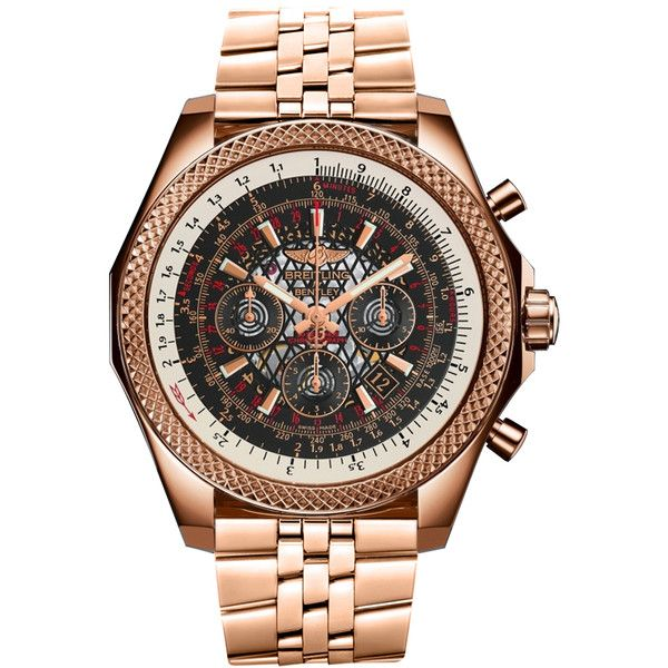 Breitling Bentley B06 rb061112/bc43/990r Watch (568.135.640 IDR) ❤ liked on Polyvore featuring men's fashion, men's jewelry, men's watches, breitling mens watches, mens rose gold watches, engraved mens watches and mens diamond bezel watches