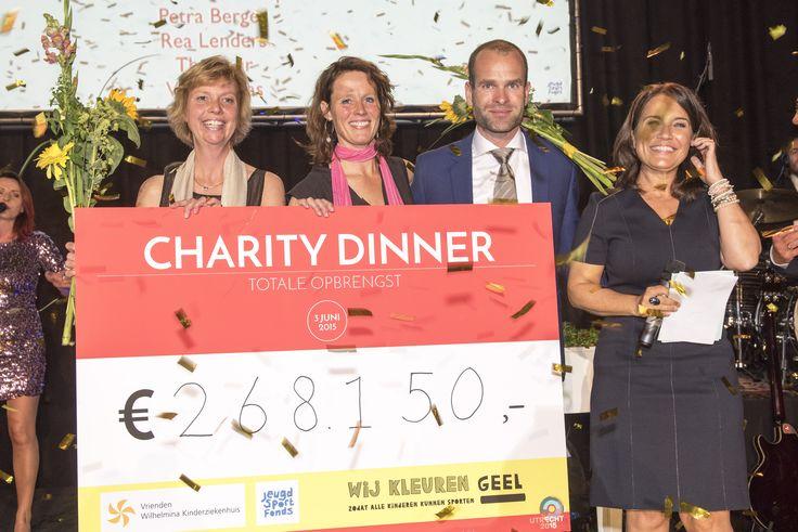 Nieuws - Charity Dinner Jeugdsportfonds en WKZ groot succes - Alles over fondsenwerving!