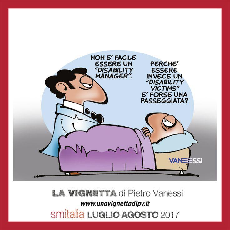 La vignetta di Pietro Vanessi su SM Italia 4/2017 [clicca sulla foto per leggere il nuovo numero della rivista anche online]