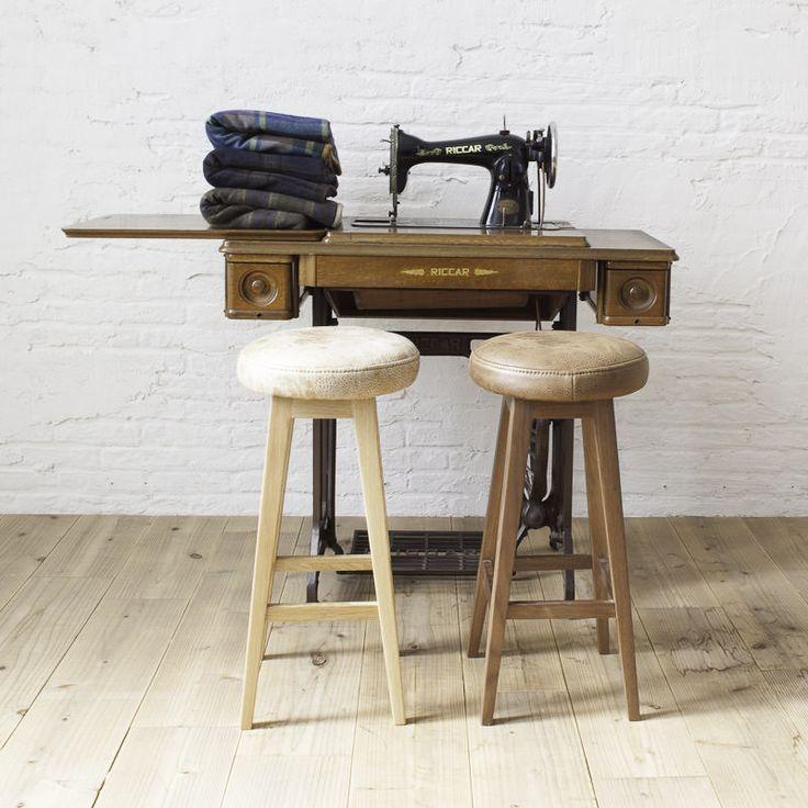 【全国一律送料無料】スツールファブリック布ベンチウッド木製[b2cスツール(座面ファブリック)ロータイプ/オーク]椅子いすイスチェアチェアー北欧シンプル家具