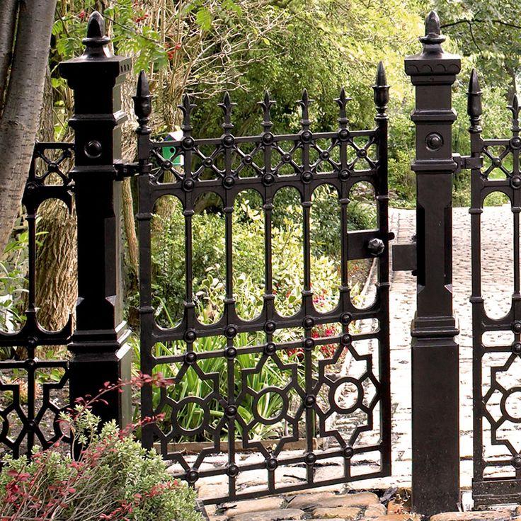 Best 20 iron gates ideas on pinterest iron garden gates for Iron garden gate designs