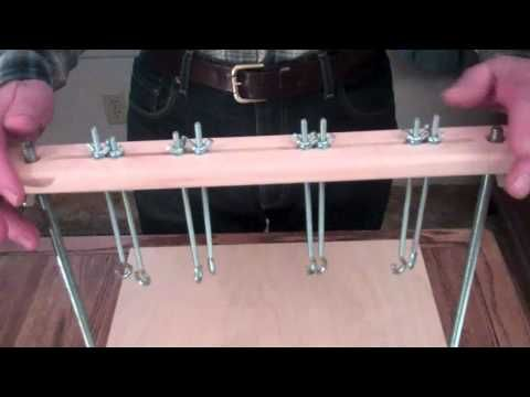 Deluxe Sewing Frame for Bookbinding-Affordablebindingequipment.com