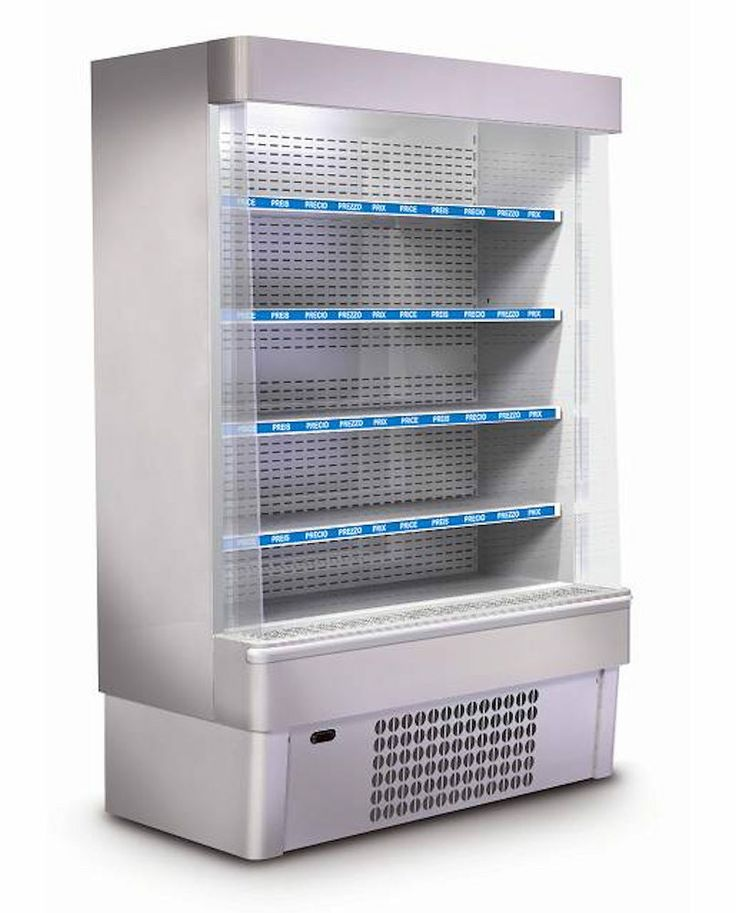 Open wall displays for refrigeration products (Vitrine frigorifice)  ITU Refrigeration Romania