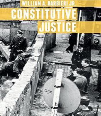 Constitutive Justice PDF