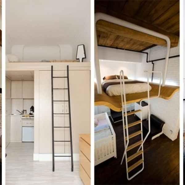 lit mezzanine 2 places 9 ides gain de place pour la chambre adulte - Idee Rangement Chambre Adulte 2