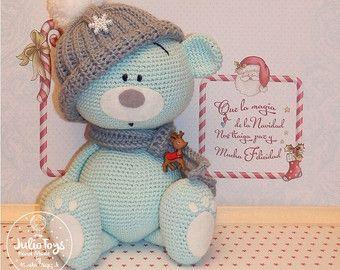 Bunny  like a  Fizzy Moon. Forever friends.Crochet  PDF