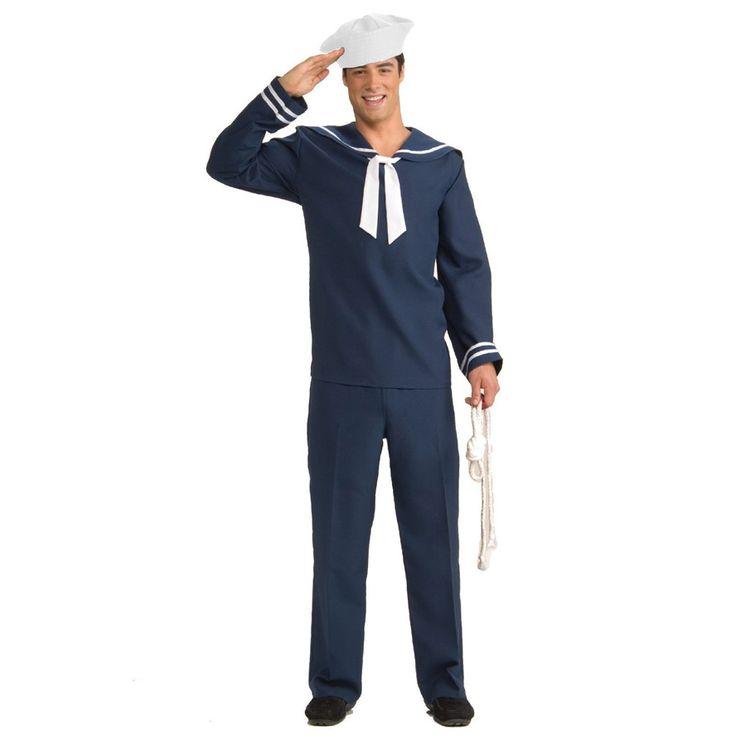 50s sailor costume for men | Sailor Costumes | Sailor Costume Ideas | COSTUMEi™