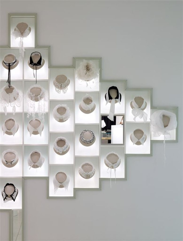 anne fontaine / new york / store / fashion / luxury 2008