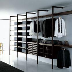 Walk-in cupboards-Wardrobes-Storage-Shelving-Storage Walk-in Closet-Porro
