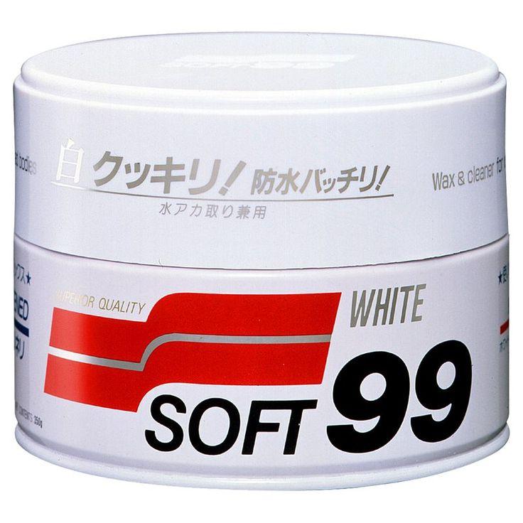Ohne viel Anstrengung, entfernen Sie mühelos den Schmutz, und bringen Ihren weißen Lack zum glänzen und leuchten.  Das White Wax ist mit Carnauba versetzt, sowie auf PTFE und FSI Harz-Basis hergestellt worden. Das Wachs...