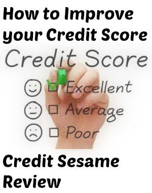 Get your #free credit report and identity theft protection to help improve your #credit score. Check out this review of CreditSesame. pay off debt, debt free, #debt