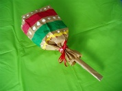 Paper Lunch Bag Maracas - See instructions and detailed photos.