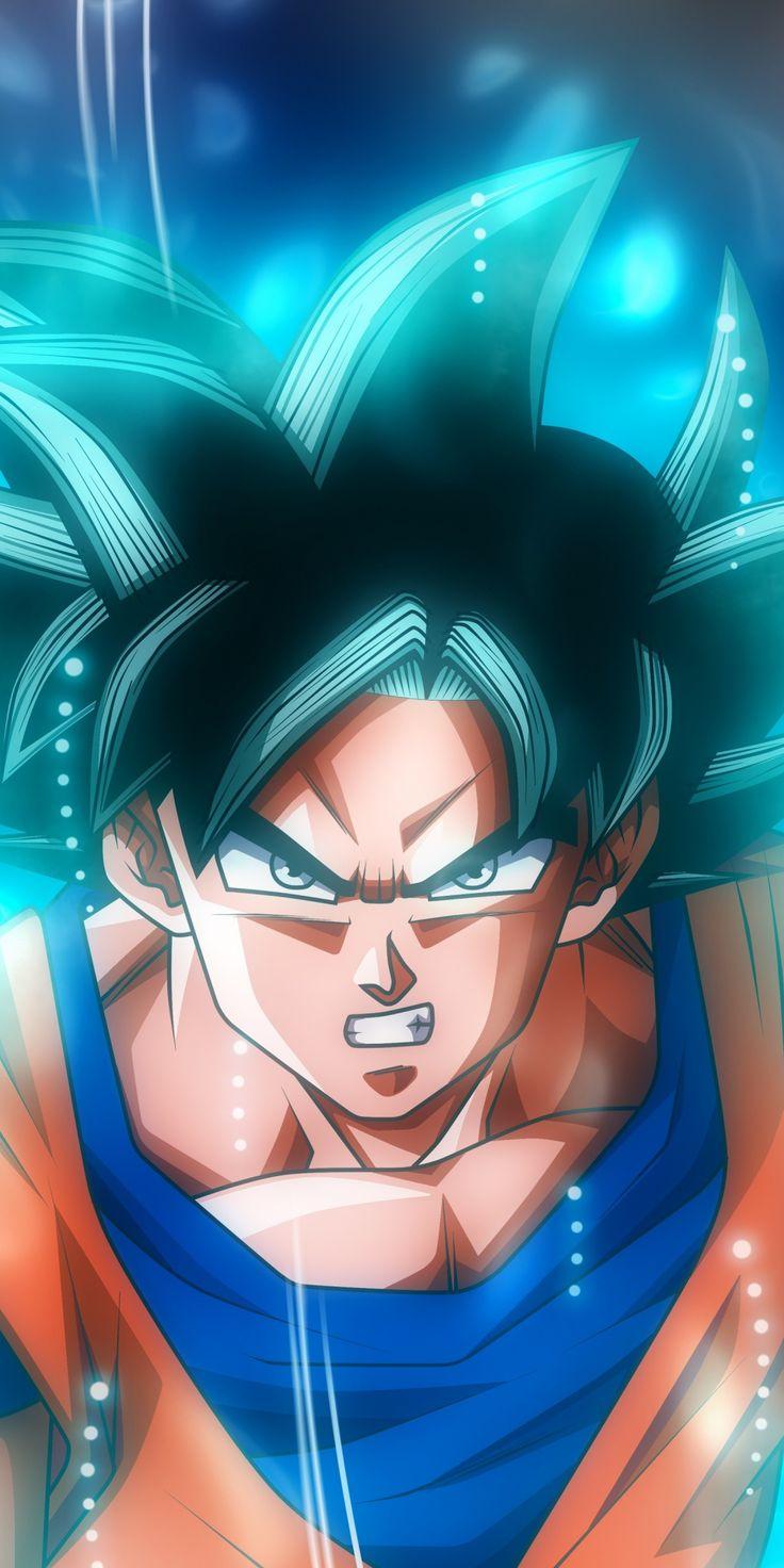 Goku, Ultra Instinct, Dragon ball, artwork, 1080x2160