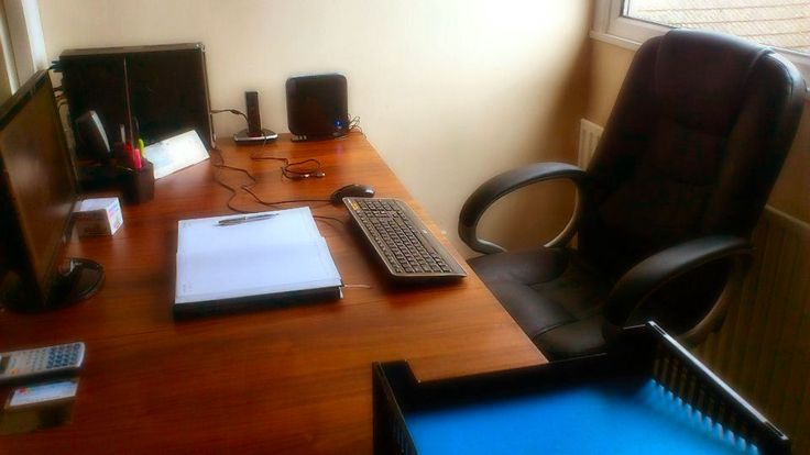 Appointments, Piles and Disinfectant - The Way To A Tidy Desk.