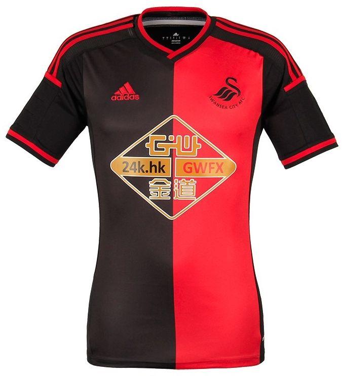 Swansea City 2014-15 adidas Away