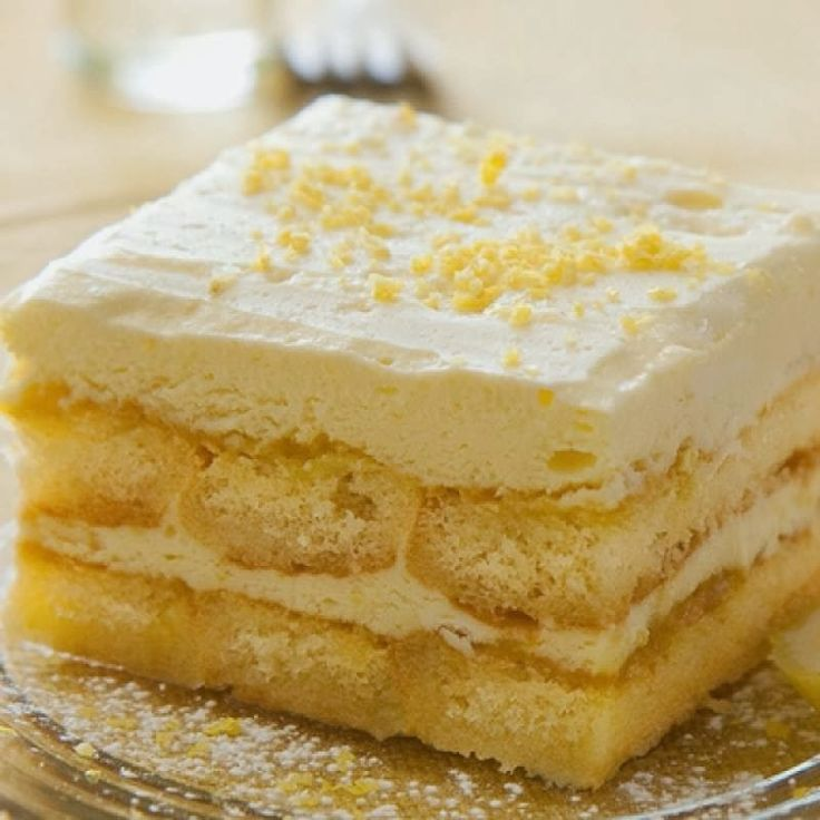 Hanneica's Kitchen: Lemon Tiramisu