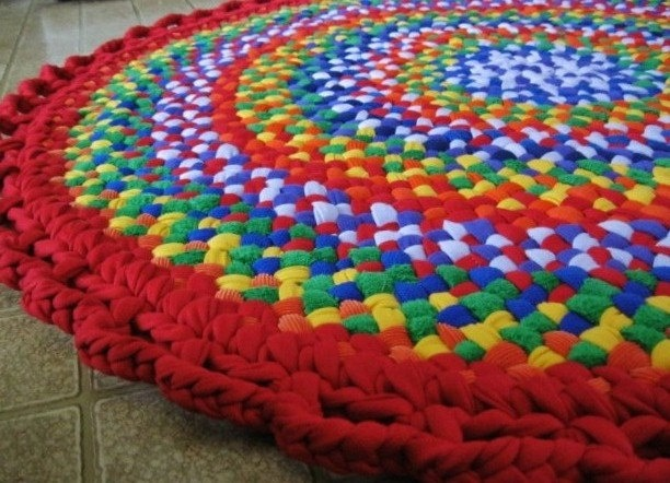 mrsginther braided rugs - etsy