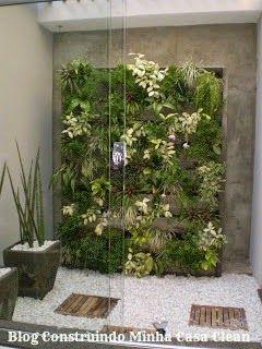 Construindo Minha Casa Clean: Jardim de Inverno